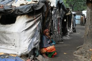 woman displaced person idp